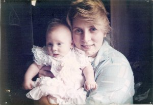 Me as a baby and my Beautiful Mother